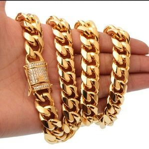 Other - 24inch 14mm HEAVY MIAMI CUBAN LINK CHAIN
